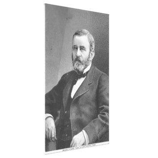 Ulysses S Grant durch großen atlantischen u. Leinwand Drucke