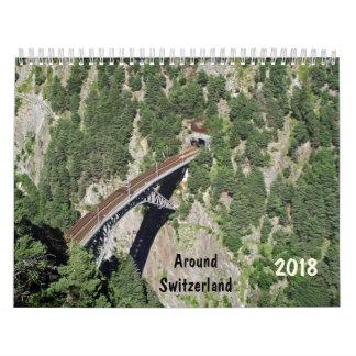 um Kalender der Schweiz 2018