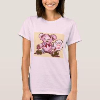Umarmen Sie mich bitte - einsamer Teddybär T-Shirt