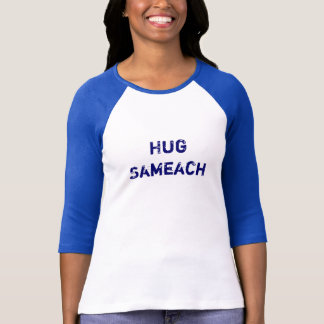Umarmung Sameach - glücklicher jüdischer T-Shirt