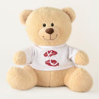 Umarmungs-Kuss-Teddybär Teddy