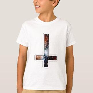 Umgekehrtes Quergalaxie-kosmisches Universum T-Shirt