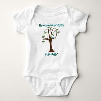 Umweltfreundliches Baum-Shirt Baby Strampler