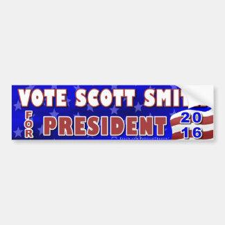 Unabhängiger 2016 Scott-Smith-Präsidenten-Wahl Autoaufkleber