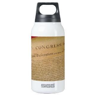 Unabhängigkeit Isolierte Flasche