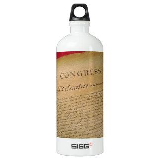 Unabhängigkeit Wasserflasche