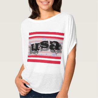 Unabhängigkeitstag-patriotisches T-Shirt USA
