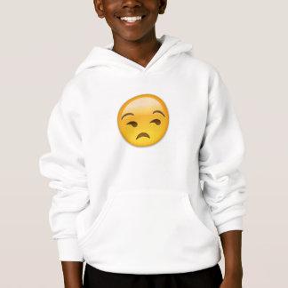 Unamused Gesicht Emoji Hoodie