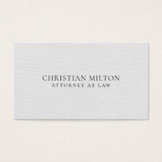 Unbedeutende elegante Beschaffenheits-weißer Visitenkarte