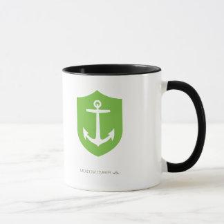 Unbedeutender Anker (Weiß/Grün) Tasse