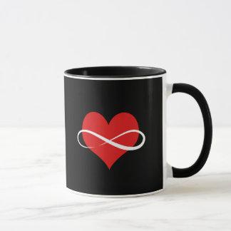 Unbegrenztes Herz Tasse