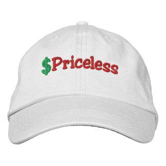 Unbezahlbarer gestickter Hut Bestickte Mütze