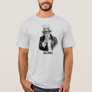 Uncle Sam - Nope - Nobama T-Stück T-Shirt