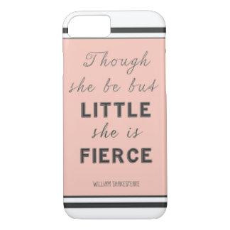 """""""Und obwohl sie aber wenig ist, ist sie heftig. """" iPhone 8/7 Hülle"""