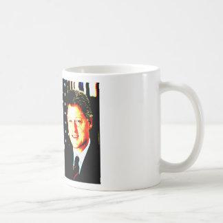 Und so ist es - Bill Clinton wichtig Kaffeetasse
