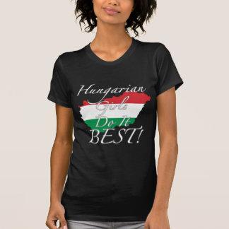 Ungarische Mädchen tun es Bestes! T-Shirt
