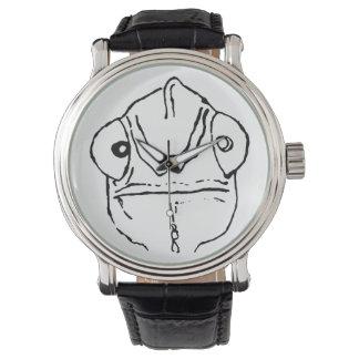 Ungeschicktes Chamäleon-schrulliger einfacher Uhr