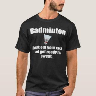 Unglaublich witzig Badminton-Witz T-Shirt