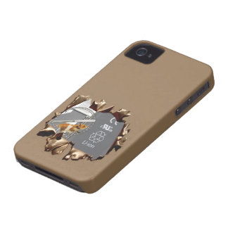 Unglaublich witzig Entwurf iPhone 4 Cover