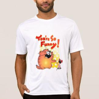 Unglaublich witzig fette Katze + Lustige Bonze der T-Shirt