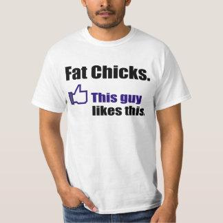 Unglaublich witzig fette Küken T-Shirt