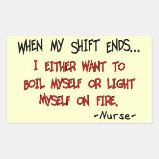 Unglaublich witzig Krankenschwester-Redewendungen Stickers