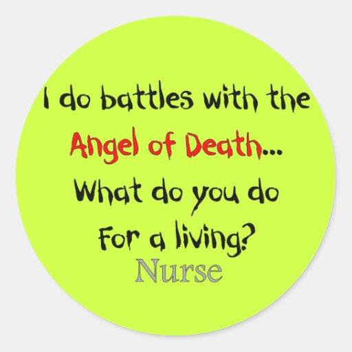 Unglaublich witzig Krankenschwester-T-Shirts und G Sticker