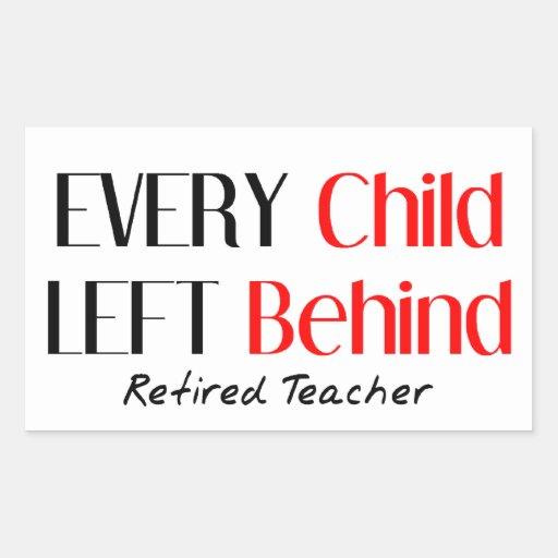 Unglaublich witzig pensionierte Lehrer-Geschenke Rechteckige Sticker