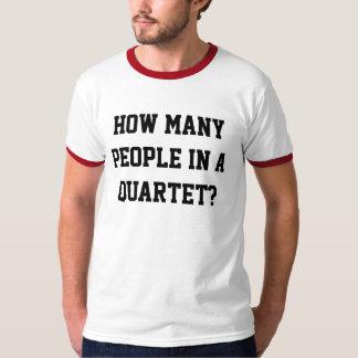 Unglaublich witzig Quartett-Wecker-T - Shirt