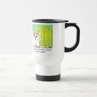 Unglaublich witzig St- Peterreise-Kaffee-Tasse! Edelstahl Thermotasse