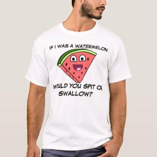 Unglaublich witzig Wassermelone-Witz T-Shirt