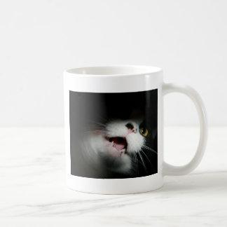 Unhöfliche Katzen-Gewohnheit und Redewendungen Tasse