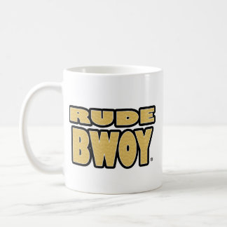 Unhöfliches Bwoy, Gold-Wörter irgendein-ähnliche Kaffeetasse