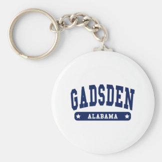 Uni-Artt-shirts Gadsdens Alabama Standard Runder Schlüsselanhänger
