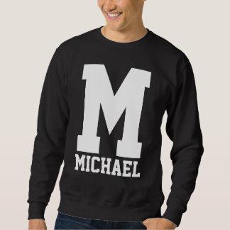 Uni-Letterman-Monogramm Sweatshirt