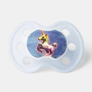Unicorn-Baby-Schnuller (Galaxie-Schimmer) Baby Schnuller
