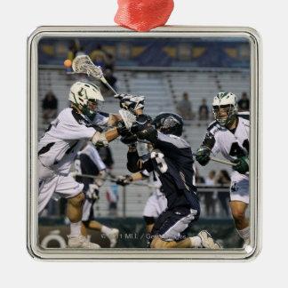 UNIONDALE, NY - 16. JUNI:  Ben Rubeor #13 2 Quadratisches Silberfarbenes Ornament