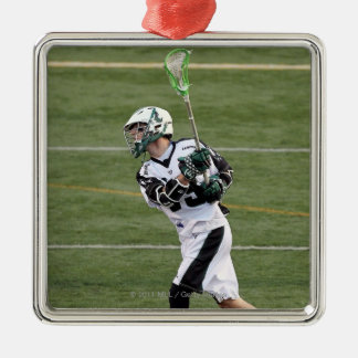 UNIONDALE, NY - 28. JULI:  Stephen Berger #13 2 Quadratisches Silberfarbenes Ornament
