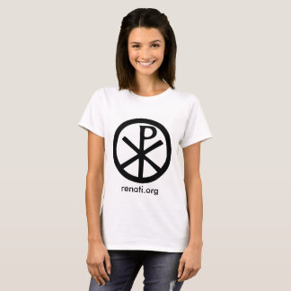 Universal Peace Symbol T-Shirt, ladies T-Shirt