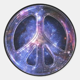 Universeller Friedensaufkleber Runder Sticker