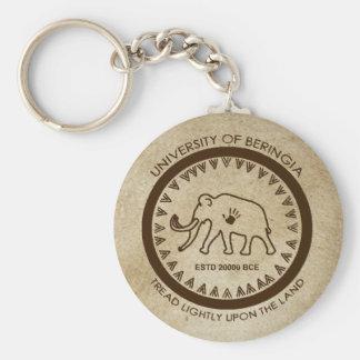 Universität des Beringia Mammut-Siegels Schlüsselanhänger