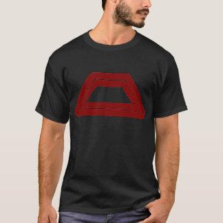 Unmögliche Paralleltrapez-optische Täuschung T-Shirt