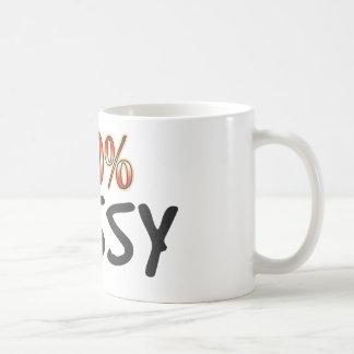 Unnötig geschäftige 100 Prozent Tasse