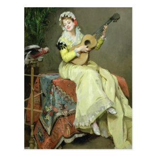 UNO-Moment-Musical Postkarte