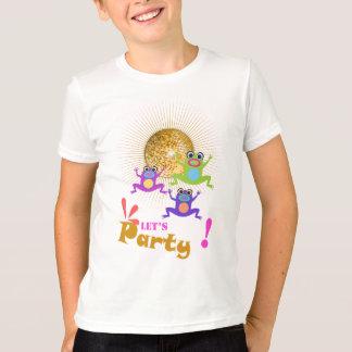Uns gelassen scherzte Party grundlegenden T-Shirt