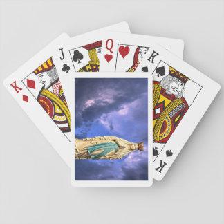 Unsere Dame klassischer Spielkarten Lourdes
