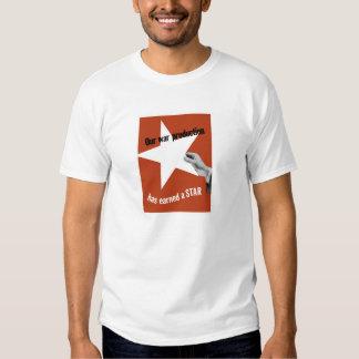 Unsere Kriegs-Produktion hat einen Stern erworben T-Shirt