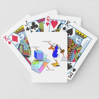 Unstimmige Ente Bicycle Spielkarten