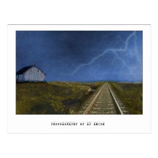 Unten zum letzten Auf Wiedersehen - Postkarte