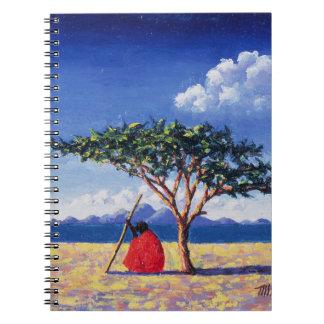 Unter dem Akazien-Baum 1991 Notiz Buch